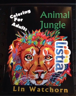 Animal jungle coloring for adults 17