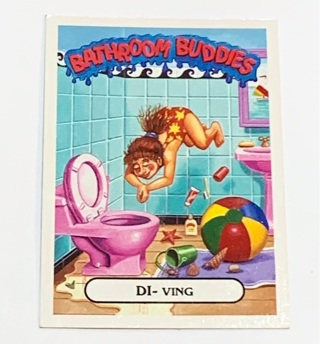 Garbage Pail Kids Bathroom Buddies Card (2017)