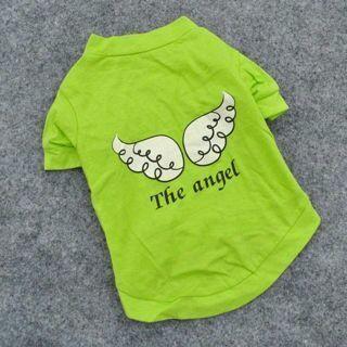 Dog Vest Pet Puppy Cat T-Shirt Summer Clothes Coat Apparel Costumes The Angel