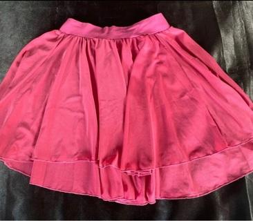 Dance Pink Sheer Skirt  Size 10-12