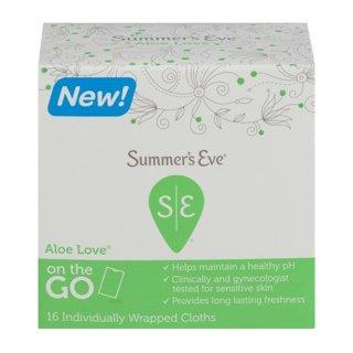 Brand New *2* Summer's Eve Aloe Love
