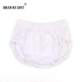 Baby Shorts Newborn Bloomers Baby Panties Solid Color Infant PP Shorts Summer Beach Harem Shorts C