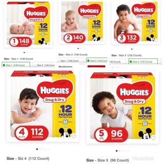 Huggies Choose your size diapers