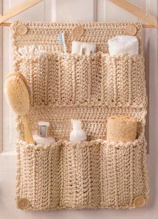 Free Crochet Patterns Easy Gifts : Free: CROCHET PATTERNS...2 Great EASY Organizers..Crochet ...