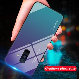Tempered Glass Phone Case For Samsung Galaxy S8 S9 Plus A5 2017 A7 A6 A8 J4 J6 Plus J8 2018 Note 8