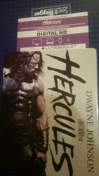 Hercules Digital code (Dwyane Johnson film) Blu-Ray