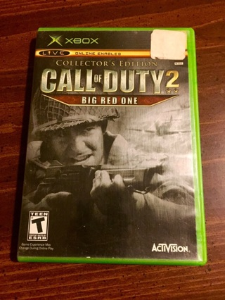 Xbox Call of Duty 2: Big Red One Collector's Edition