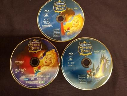 SLEEPING BEAUTY DVD Walt Disney 50th Anniversary Platinum Edition 3 Disc Kids