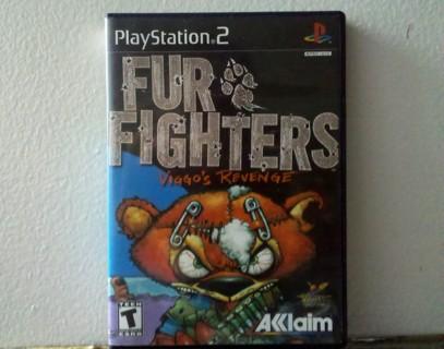 PlayStation®2  FUR FIGHTERS™  VIGGO'S  REVENGE