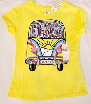 GIRLS 2 PIECE SIZE 6 T-SHIRT & WITH SHORTS***TO CUTE***