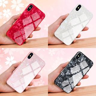 Luxury Marble Tempered Glass Case Cover For Apple iPhone X XS XR Max 10 8 7 6s 6