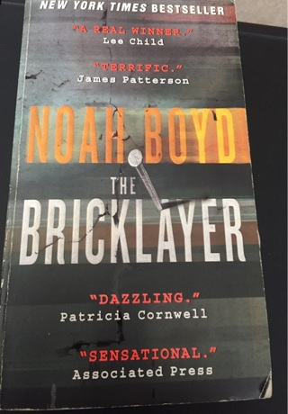 Noah boyd-the bricklayer paperback