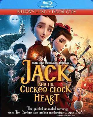 2014 Jack And The Cuckoo Clock Heart (Blu-ray+DVD+Digital)-New & Sealed-Read!!
