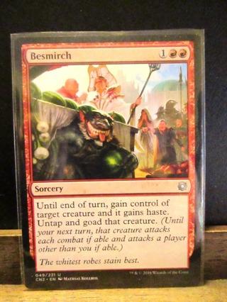Magic The Gathering Card - Besmirch