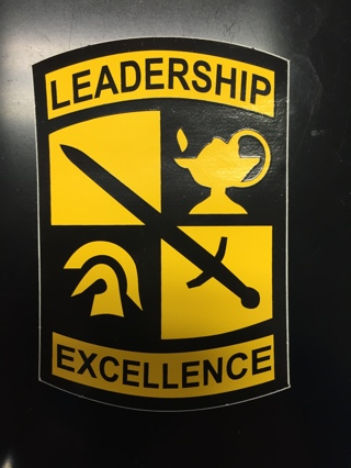 ROTC Leadership Excellence Sticker