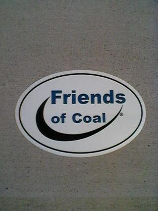 Friends of Coal Sticker