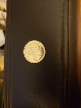 Canada Quarter 25-Cent coin