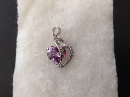 925 Sterling Silver and Stunning Gemstone
