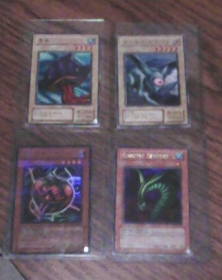 Yu-Gi-Oh Japanese An English Tin Foil Cards