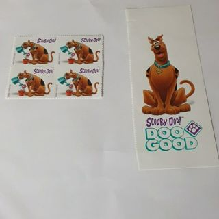 Scooby-Doo stamp set of four