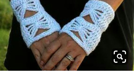 Lacy fingerless gloves FREE SHIPPING