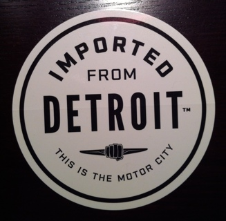 Free Imported From Detroit Motor City Sticker Other