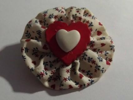 Vintage Valentine's Heart Brooch