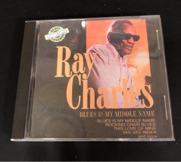 Ray Charles: Blues is My Middle Name CD