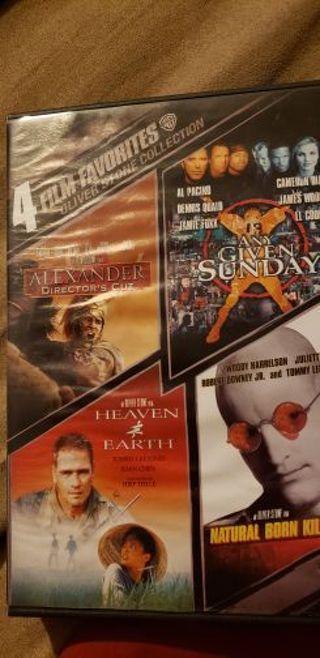 4 movie dvd