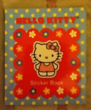HELLO KITTY STICKER BOOK!!
