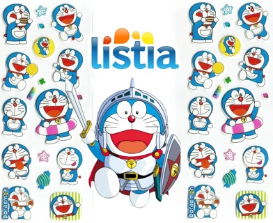 DORAEMON Puffy Pop Up 3D Stickers Super Cute Anime ONE SHEET FREE SHIPPING
