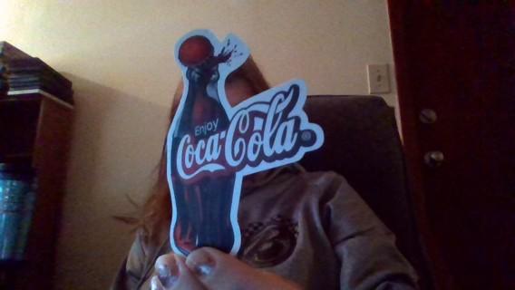 free coca cola sticker stickers listia com auctions for free stuff