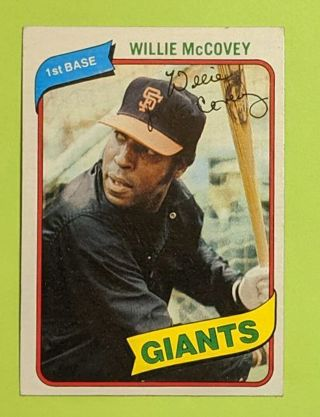 1980 WILLIE MCCOVEY