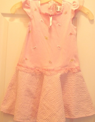 """""""Youngland"""" Little Girl's Pink Dress Size 5"""
