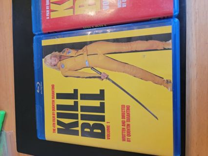 Kill Bill Volume 1 and Volume 2. Used. Excellent Condition