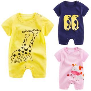 Summer Newborn Infant Baby Boy Girl Romper Jumpsuit Playsuit Bodysuit Outfits US