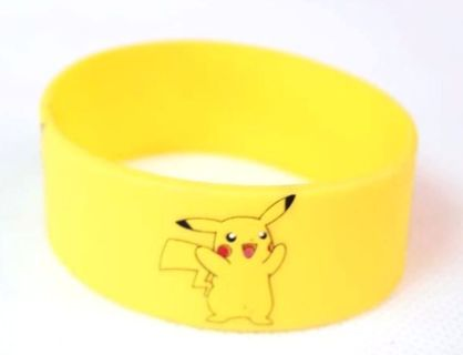 1 Pokemon Pikachu Wrist Band bracelet POKEMON JEWELRY pocket monster anime