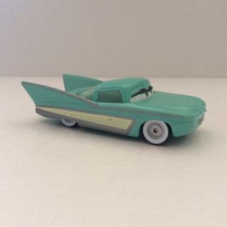 Disney Pixar Cars Diecast Car 1:55 Classic Car Flo Mint Green