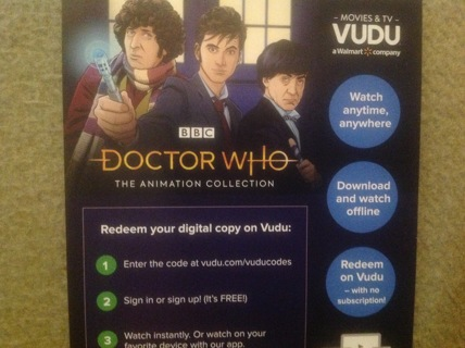 Doctor Who The Animation Collection (Digital Code}