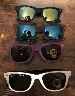 4 Rayban new sunglasses