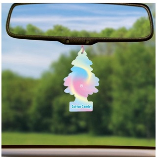 Cotton candy tree car fragrance