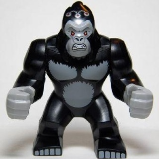 New Big Gorilla Grodd Minifigure Building Toy Custom Lego