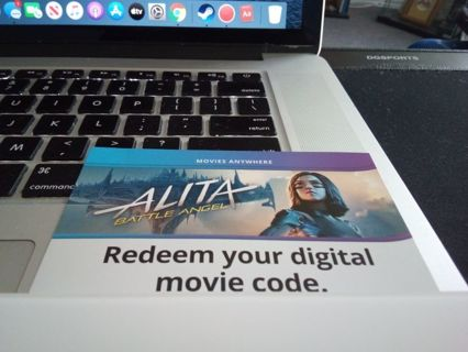 Alita Battle Angel (digital code)