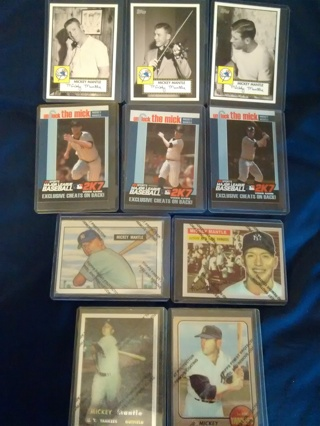 MICKEY MANTLE COLLECTOR'S LOT!!! Plus more!!