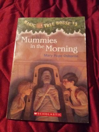 Used Magic Tree House Book Mummies in the Morning