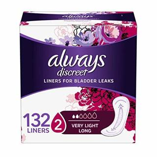 Always Discreet, Incontinence Liners 132 Count