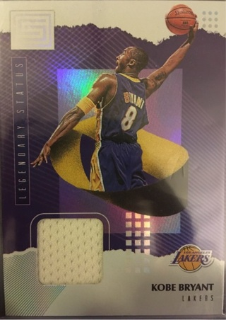 Kobe Bryant Legendary Status Jersey Lakers