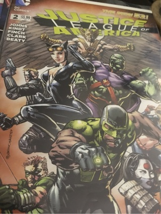 DC Justice League of America #2 Mint