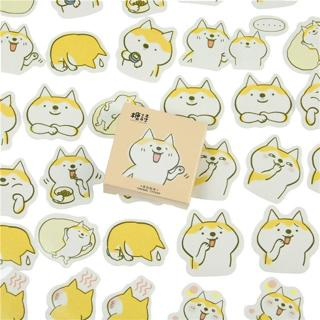 45 Pcs/lot Cute Dogs Decorative DIY Diary Stickers  Kawaii Planner Scrapbooking Sticky Stationery