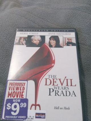 Movie the devil wear prada dvd